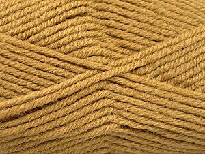 Fiber Content 50% Acrylic, 25% Alpaca, 25% Wool, Brand ICE, Cafe Latte, Yarn Thickness 5 Bulky  Chunky, Craft, Rug, fnt2-60858
