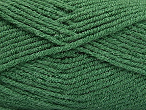 Fiber Content 50% Acrylic, 25% Wool, 25% Alpaca, Brand ICE, Green, Yarn Thickness 5 Bulky  Chunky, Craft, Rug, fnt2-60866