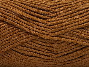 Fiber Content 100% Acrylic, Brand ICE, Brown, Yarn Thickness 5 Bulky  Chunky, Craft, Rug, fnt2-60928