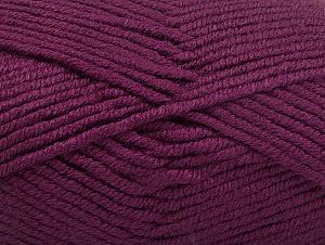 Fiber Content 100% Acrylic, Purple, Brand ICE, Yarn Thickness 5 Bulky  Chunky, Craft, Rug, fnt2-60930