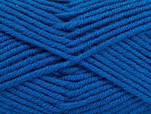 Fiber Content 100% Acrylic, Brand ICE, Blue, Yarn Thickness 5 Bulky  Chunky, Craft, Rug, fnt2-60932