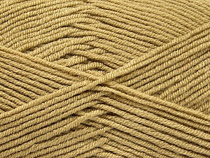 Fiber Content 100% Acrylic, Brand ICE, Beige, Yarn Thickness 4 Medium  Worsted, Afghan, Aran, fnt2-60958