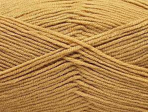 Fiber Content 100% Acrylic, Brand ICE, Cafe Latte, Yarn Thickness 4 Medium  Worsted, Afghan, Aran, fnt2-60959