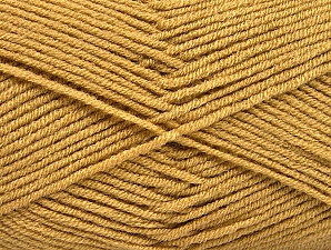 Fiber Content 100% Acrylic, Light Brown, Brand ICE, Yarn Thickness 4 Medium  Worsted, Afghan, Aran, fnt2-60960