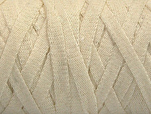 Fiber Content 100% Recycled Cotton, Brand ICE, Ecru, Yarn Thickness 6 SuperBulky  Bulky, Roving, fnt2-61086