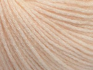 Fiber Content 85% Acrylic, 15% Bamboo, Light Salmon, Brand ICE, Yarn Thickness 4 Medium  Worsted, Afghan, Aran, fnt2-61094