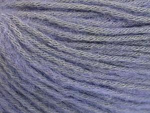 Fiber Content 85% Acrylic, 15% Bamboo, Light Lilac, Brand ICE, Yarn Thickness 4 Medium  Worsted, Afghan, Aran, fnt2-61095