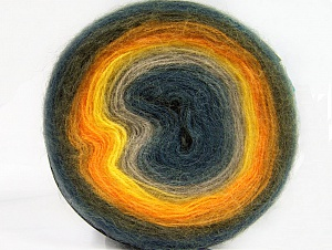 Fiber Content 60% Acrylic, 20% Wool, 20% Angora, Yellow, Orange, Khaki, Jeans Blue, Brand ICE, Camel, Blue, Yarn Thickness 2 Fine  Sport, Baby, fnt2-61243