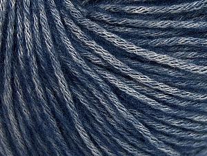 Fiber Content 85% Acrylic, 15% Bamboo, Navy, Brand ICE, Grey, Yarn Thickness 4 Medium  Worsted, Afghan, Aran, fnt2-61246