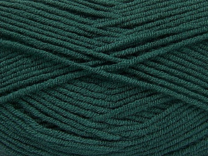 Fiber Content 100% Acrylic, Brand ICE, Dark Green, Yarn Thickness 4 Medium  Worsted, Afghan, Aran, fnt2-61283