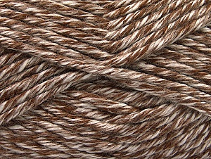 Fiber Content 100% Acrylic, White, Brand ICE, Brown, fnt2-61355