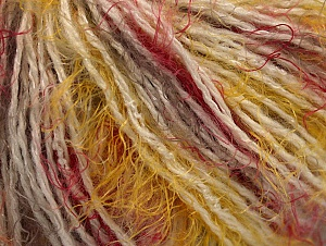 Fiber Content 50% Polyamide, 30% Acrylic, 20% Wool, Yellow, White, Red, Brand ICE, Camel, fnt2-61757