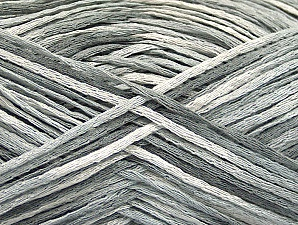 Fiber Content 100% Acrylic, White, Light Grey, Brand ICE, fnt2-62204