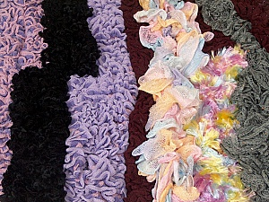 Ready-Made Scarves This mixed lot includes scarves made as sample Brand ICE, fnt2-62274