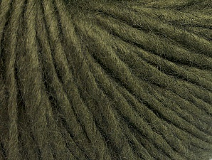 Fiber Content 50% Acrylic, 50% Wool, Khaki, Brand ICE, Yarn Thickness 4 Medium  Worsted, Afghan, Aran, fnt2-62366