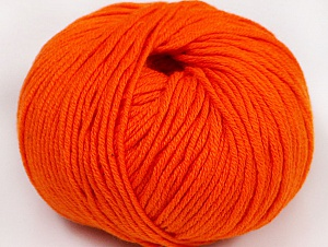 Fiber Content 50% Cotton, 50% Acrylic, Light Orange, Brand ICE, fnt2-62401