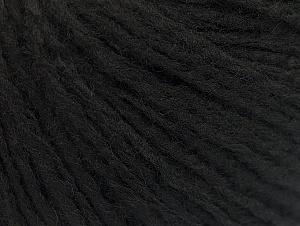 Fiber Content 50% Wool, 50% Acrylic, Brand ICE, Black, fnt2-62507
