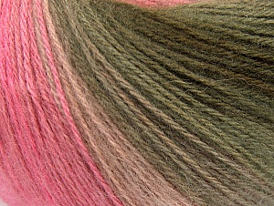 Fiber Content 60% Acrylic, 20% Angora, 20% Wool, White, Pink Shades, Brand ICE, Grey, Brown, Yarn Thickness 2 Fine  Sport, Baby, fnt2-62540