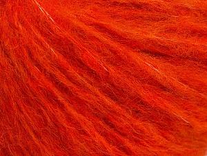 Fiber Content 44% Wool, 38% Acrylic, 18% Polyamide, Orange, Brand ICE, fnt2-62674