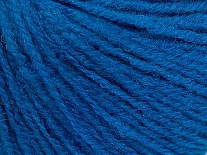 Fiber Content 50% Acrylic, 25% Alpaca, 25% Merino Wool, Brand ICE, Blue, fnt2-62688
