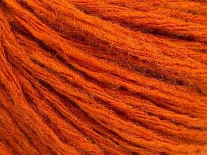 Fiber Content 50% Wool, 50% Acrylic, Orange, Brand ICE, fnt2-62714