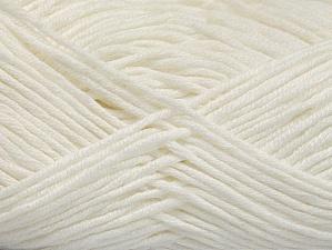 Fiber Content 50% Cotton, 50% Acrylic, White, Brand ICE, fnt2-62730