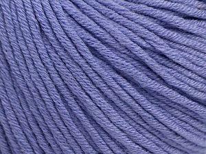 Fiber Content 50% Cotton, 50% Acrylic, Lilac, Brand ICE, fnt2-62744