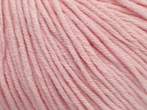 Fiber Content 50% Cotton, 50% Acrylic, Brand ICE, Baby Pink, fnt2-62753