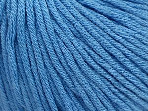 Fiber Content 50% Cotton, 50% Acrylic, Brand ICE, Baby Blue, fnt2-62755