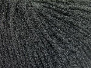 Fiber Content 60% Acrylic, 40% Wool, Brand ICE, Dark Grey, Yarn Thickness 2 Fine  Sport, Baby, fnt2-62768