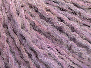 Fiber Content 50% Wool, 30% Acrylic, 20% Polyamide, Pink, Lilac, Brand ICE, fnt2-62840