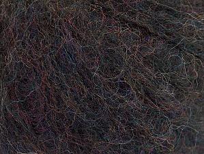 Fiber Content 34% Acrylic, 26% Wool, 24% Polyamide, 16% Viscose, Brand ICE, Black Melange, fnt2-62863