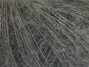 Fiber Content 34% Acrylic, 26% Wool, 24% Polyamide, 16% Viscose, Light Grey, Brand ICE, fnt2-62873