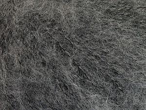 Fiber Content 34% Acrylic, 26% Wool, 24% Polyamide, 16% Viscose, Brand ICE, Grey, fnt2-62874
