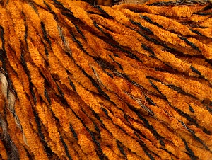 Fiber Content 85% Acrylic, 15% Wool, Brand ICE, Dark Gold, Brown Shades, Black, fnt2-62968