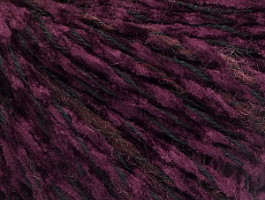 Fiber Content 85% Acrylic, 15% Wool, Red, Purple, Brand ICE, Black, fnt2-62970