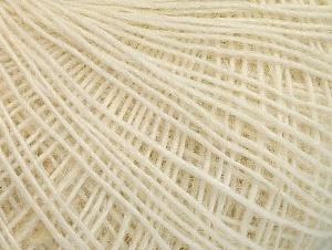 Fiber Content 60% Wool, 40% Acrylic, Brand ICE, Cream, fnt2-62979