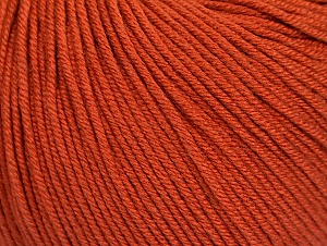 Fiber Content 60% Cotton, 40% Acrylic, Brand Ice Yarns, Copper, Yarn Thickness 2 Fine  Sport, Baby, fnt2-62997
