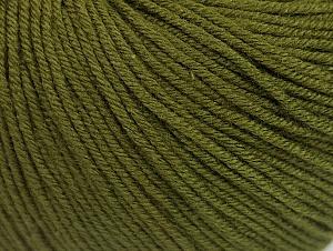 Fiber Content 60% Cotton, 40% Acrylic, Brand ICE, Dark Khaki, fnt2-63001