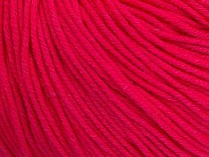 Fiber Content 60% Cotton, 40% Acrylic, Neon Pink, Brand ICE, fnt2-63014