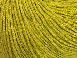 Fiber Content 60% Cotton, 40% Acrylic, Light Olive Green, Brand ICE, fnt2-63017