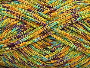 Fiber Content 100% Acrylic, Turquoise, Purple, Brand ICE, Green, Gold, fnt2-63030