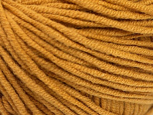 Fiber Content 50% Acrylic, 50% Cotton, Brand ICE, Gold, fnt2-63031