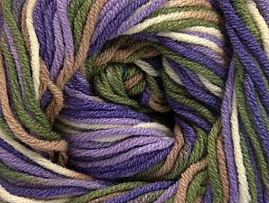 Fiber Content 55% Cotton, 45% Acrylic, Lilac, Lavender, Khaki, Brand ICE, Cream, Camel, Yarn Thickness 3 Light  DK, Light, Worsted, fnt2-63087