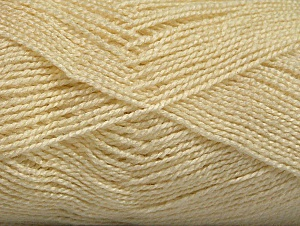 Fiberinnehåll 100% Akryl, Brand ICE, Cream, Yarn Thickness 1 SuperFine  Sock, Fingering, Baby, fnt2-63091