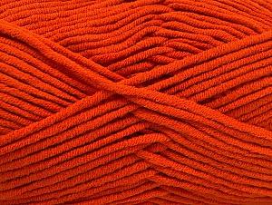 Περιεχόμενο ίνας 55% Βαμβάκι, 45% Ακρυλικό, Orange, Brand ICE, Yarn Thickness 4 Medium  Worsted, Afghan, Aran, fnt2-63098