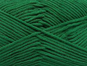 Περιεχόμενο ίνας 55% Βαμβάκι, 45% Ακρυλικό, Brand ICE, Dark Green, Yarn Thickness 4 Medium  Worsted, Afghan, Aran, fnt2-63099