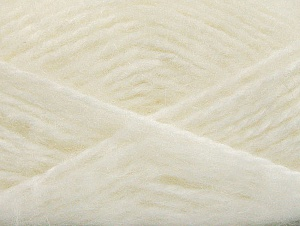 SuperBulky  Fiber Content 70% Acrylic, 30% Angora, White, Brand ICE, fnt2-63122