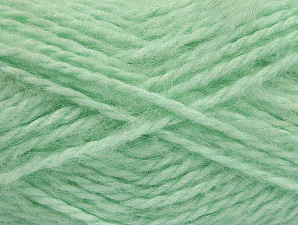 SuperBulky  Fiber Content 70% Acrylic, 30% Angora, Mint Green, Brand ICE, fnt2-63130
