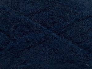 SuperBulky  Fiber Content 70% Acrylic, 30% Angora, Navy, Brand ICE, fnt2-63134